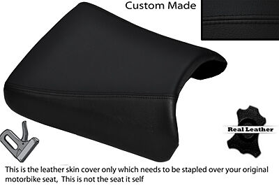 Black Stitch Custom Fits Yamaha Trx 95-99 850 Front Leather Seat Cover