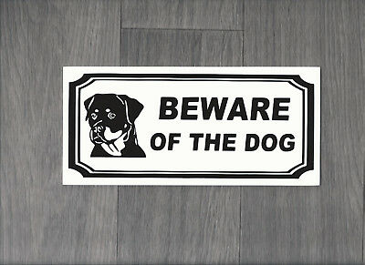 Beware of the Dog Sign (DS-01)