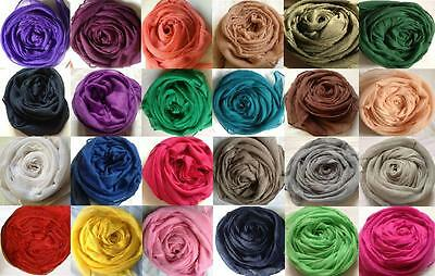 Fashionable Plain Oversize Maxi Hijab/Scarf - Many Colours Available !! New