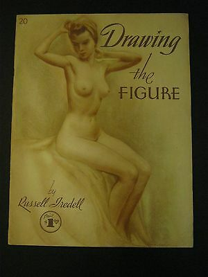 Vintage WALTER FOSTER Book DRAWING THE FIGURE by Russell Iredell #20