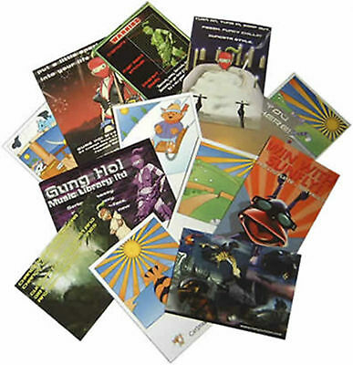 "2500 Full Color 2 Sided REAL PRINTING 8.5"" x 11"" Flyers Brochures Aqueous Gloss"