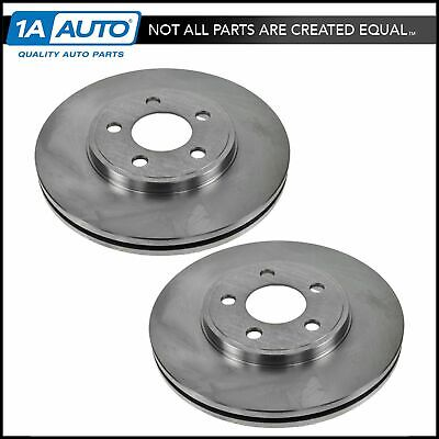 Nakamoto Front Brake Rotors LH /& RH Pair for 07-12 Ford Edge Lincoln MKX