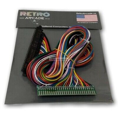 Full Jamma Extender Harness for your current JAMMA boards with coin, all 56 pins