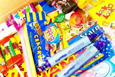 'gift For Him' Retro Sweets Selection Gift Box - Value Christmas Birthday Gifts
