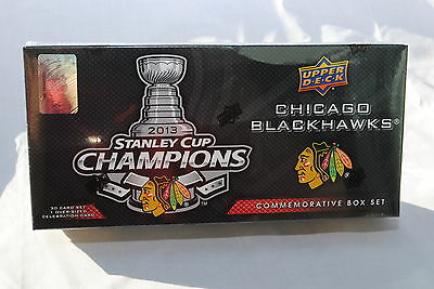 2013 Upper Deck Chicago Blackhawks Stanley Cup Champions Commemorative Box Set