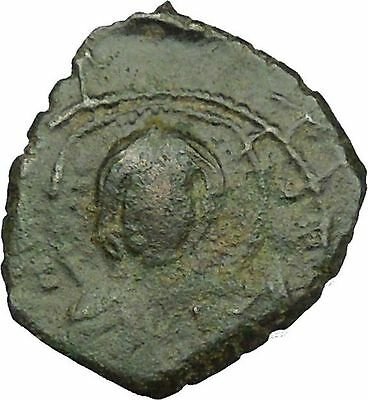 Alexius I Comnenus Byzantine Emperor Ancient Medieval Coin Jesus Christ i35168