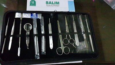 Human animal anatomy dissecting kit - biokit/student kit - surgical instrument