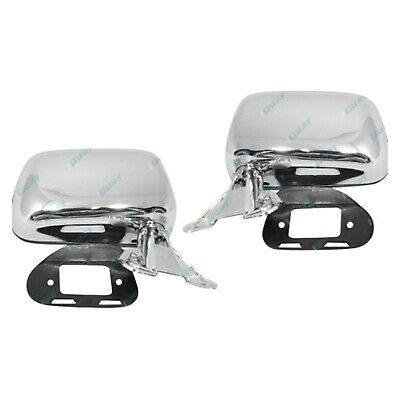 Toyota Hilux 88-04 Chrome Side Door Mirrors Left/Right