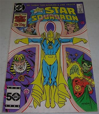 ALL-STAR SQUADRON #47 (DC Comics 1985) Origin DR FATE! McFarlane art (FN/VF)