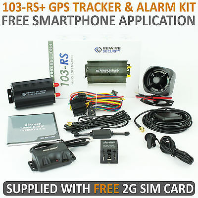 NEW TK103 GPS Tracker Alarm For Car Vehicle Full Kit Tracking System Device A017