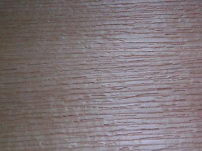 Oak Raw Wood Veneer Sheets 4.5 x 38.5 inches  1/42nd thick               6923-14