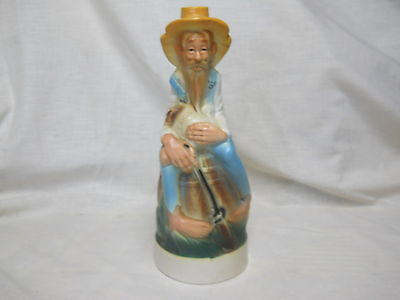 Weller Whiskey Figural Bottle Mountainman Moonshiner Cabin Still Collection 1969