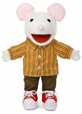 """14"""" Pro Puppets/Full Body Hand Puppet Mouse w/sneakers"""