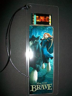 BRAVE Movie Film Cell Bookmark compliments dvd poster vhs