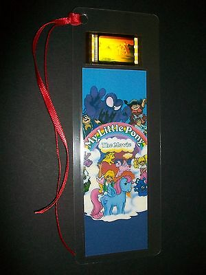 MY LITTLE PONY Movie Film Cell Bookmark compliments dvd poster vhs