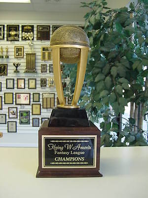 Fantasy Basketball Perpetual Trophy 16 Years New Design Awesome Medium Style