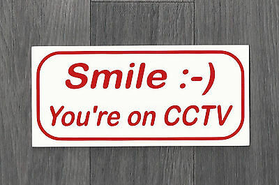 Smile you're on CCTV Sign (CS-02)