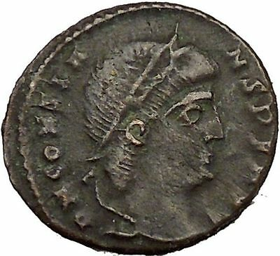 Constans Gay Emperor Constantine the Great son Roman Coin Glory of Army i35518