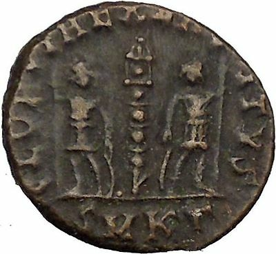 Constans Gay Emperor Constantine the Great son Roman Coin Glory of Army i35519