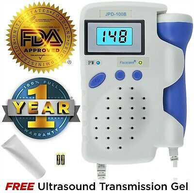 Fetal Doppler, JPD-100B, 3MHz Probe, Rechargeable Battery, Charger
