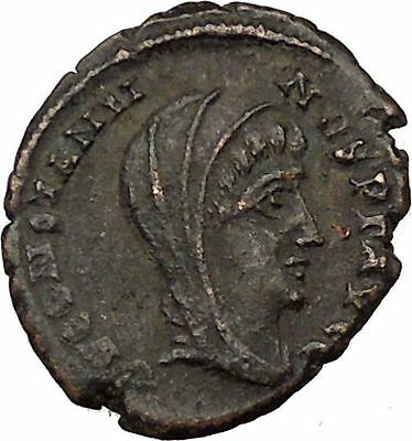 CONSTANTINE I the GREAT 347AD  Ancient Roman Coin Christian Deification  i35590