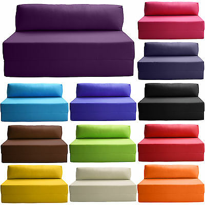 Sofabed Double Chair Bed Z Guest Fold Out Futon Sofa Chairbed Matress foam Gilda