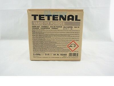 Tetenal Vario Fix Powder Fixer -For 2 x 5 Liters Fixer for B&W films and papers
