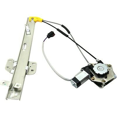 Power Window Regulator For 97-2001 Jeep Cherokee Front, Driver Side With Motor
