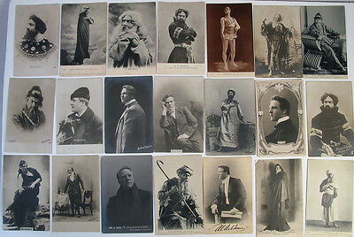 LOT of 85 RUSSIAN IMPERIAL POSTCARD OPERA SIGNERS OF RUSSIA SHALYAPIN CHAIKOVSKY