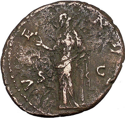 Faustina II wife of  Marcus Aurelius  Large Ancient Roman Coin VENUS i35661