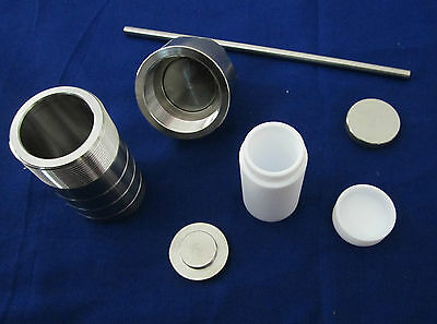 100ml,PTFE Lined Hydrothermal Synthesis Reactor,S304 High Pressure Vessel