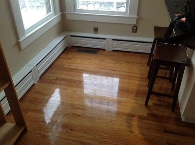Custom Baseboard Heater Covers: cover your ugly, old beat up heaters!