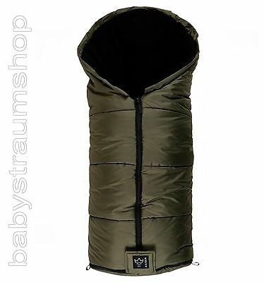 Kaiser Winterfußsack Thermo Aktion Winter Fußsack Fleece Kinderwagen khaki