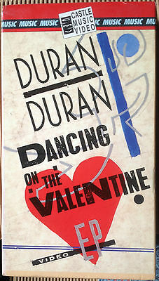Duran Duran - Dancing On The Valentine - Vhs
