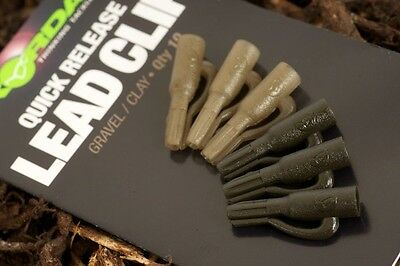 Korda NEW Carp Fishing Safety Quick Release Lead Clip Weed / Silt