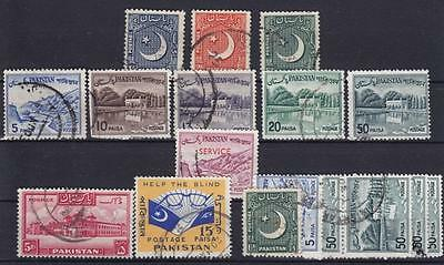 Pakistan Sammlung ab 1949, gest., used, collection