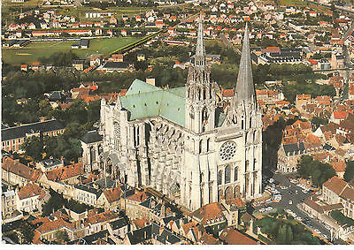 Cpsm Chartres Vue Aerienne