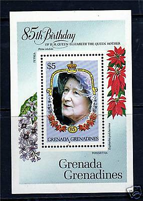 Gren.Grenadines 1985 Life & Times Q. Mother MS692 MNH