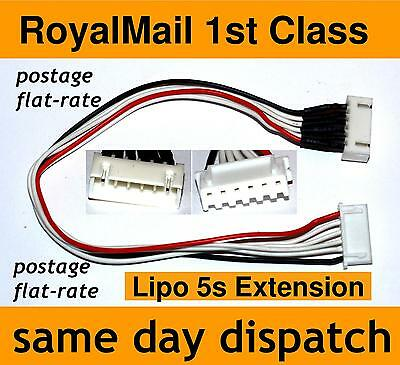 Lipo Balance Extension Charger Cable Lead 5s JST-XH (5 cell, 18.5V)