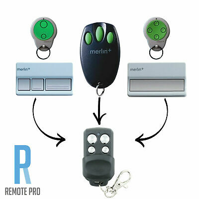 Merlin+ C945 CM842 C940 C943 Bearclaw Plus Replacement Garage Remote Control
