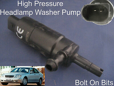 Headlamp/Headlight Washer Spray Cleaning Pump Mercedes S Class 1998 to 2005