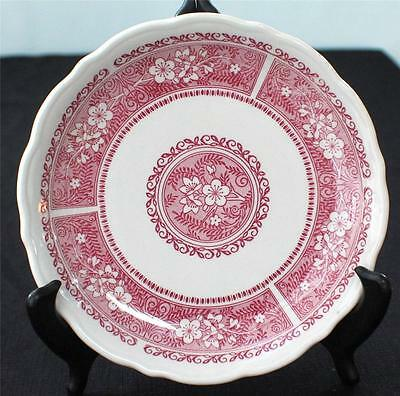 "Vintage SYRACUSE Restaurant China STRAWBERRY HILL Pattern 7 1/2"" Salad Plate"