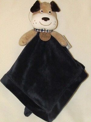 NWT Carter's Blue Tan My First Puppy Dog Lovey Security Blanket