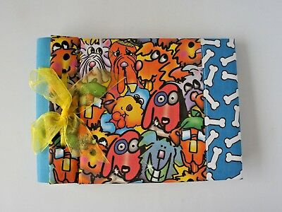 Russ Bowzers And Meowzers Brag Book Photo Album Dog/puppy Album In Blue -  New