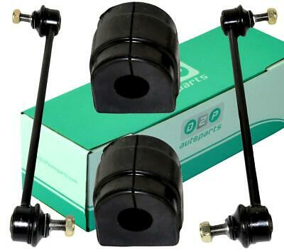 For Bmw 3 Series E46 Front Stabiliser Anti Roll Bar Drop Links & Bushes Kit