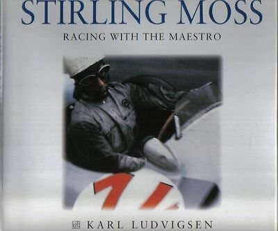 Stirling Moss Racing With The Maestro by Karl Ludvigsen excellent photography