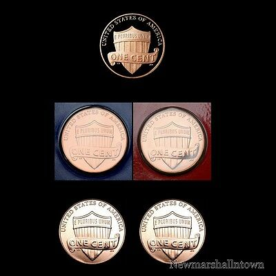 2013 P+D+S Lincoln Shield Penny Mint Proof Set ~ PD from Mint Set and Bank Roll