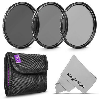 52MM Filter Kit - Neutral Density (ND2 ND4 ND8) for Nikon by Altura Photo®