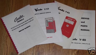 Coca-Cola Vendo Machine Service and Parts Manual, V-23 Model