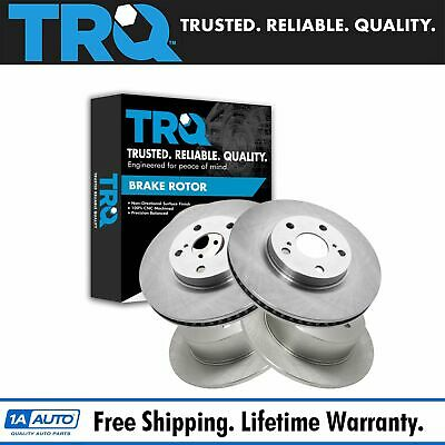 Nakamoto Brake Rotor Front /& Rear Kit of 4 for Lexus ES350 Toyota Camry Avalon